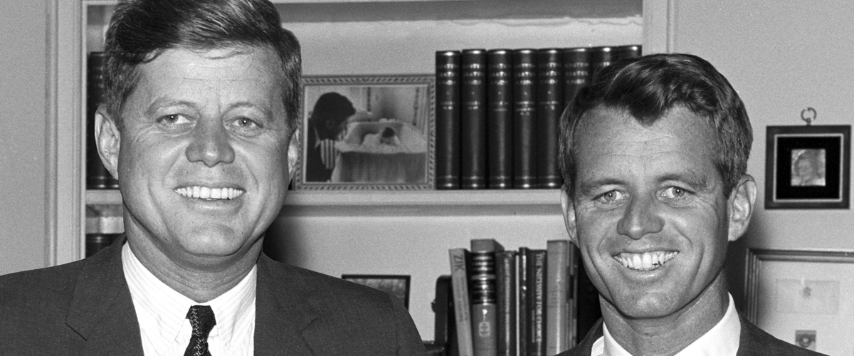 Special Exhibit 2015 Jack And Bobby Kennedy Brothers