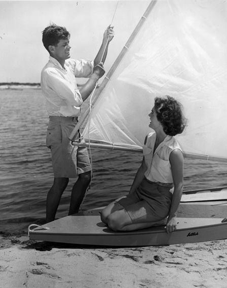 Senator John F. Kennedy and Jacqueline Bouvier