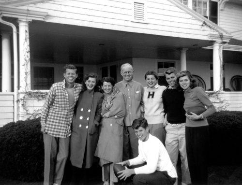 The Kennedy Family in Hyannis Port, 1948 – Jack, Jean, Rose, Joe Pat, Bobby, Eunice, Teddy