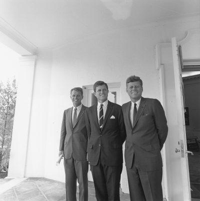 Robert F. Kennedy, Ted Kennedy and John F. Kennedy