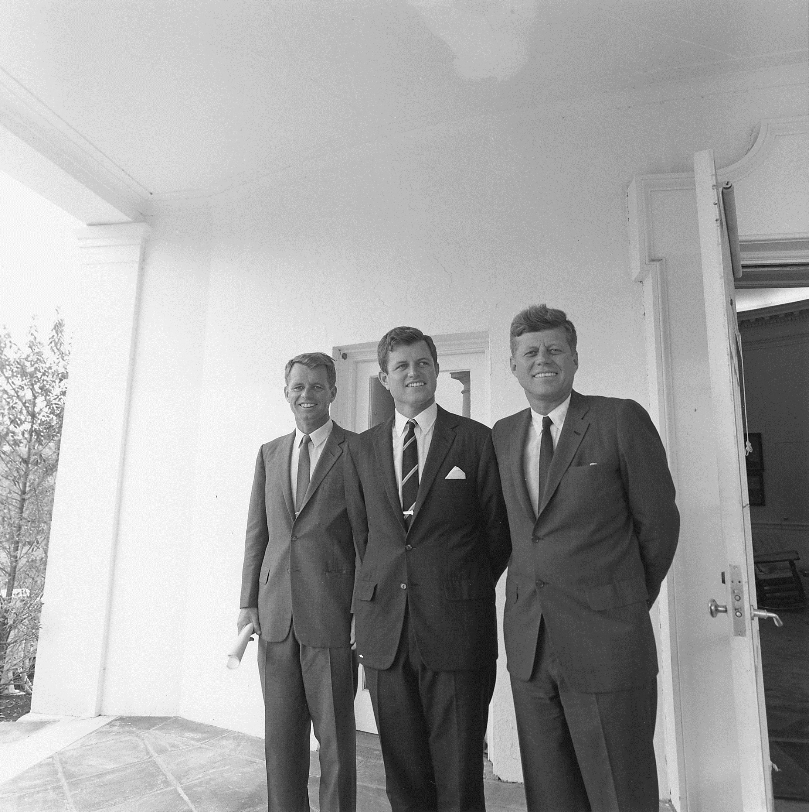 Robert F. Kennedy, Ted Kennedy and John F. Kennedy
