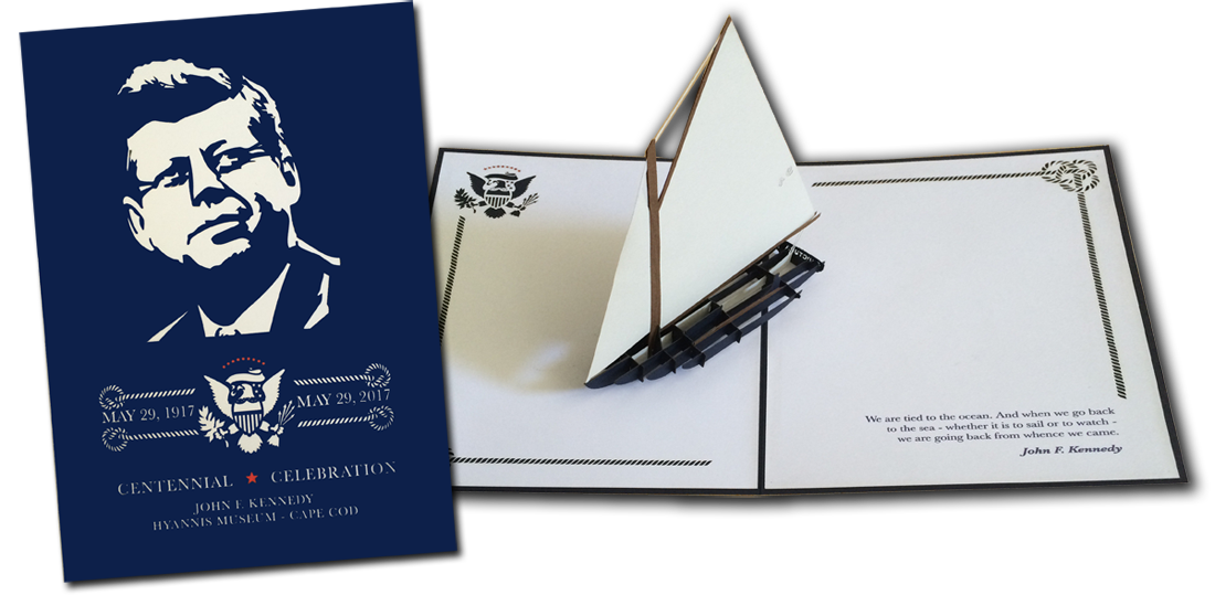 JFK Hyannis Museum CentennialCelebrationKeepsake Greeting Card 2016