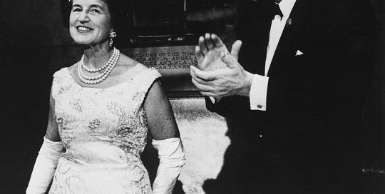 President_Kennedy_with_his_mother