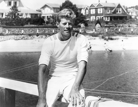 John F. Kennedy in Hyannis Port – ca. 1940-1941