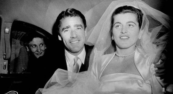 Patricia Kennedy Lawford and Peter Lawford