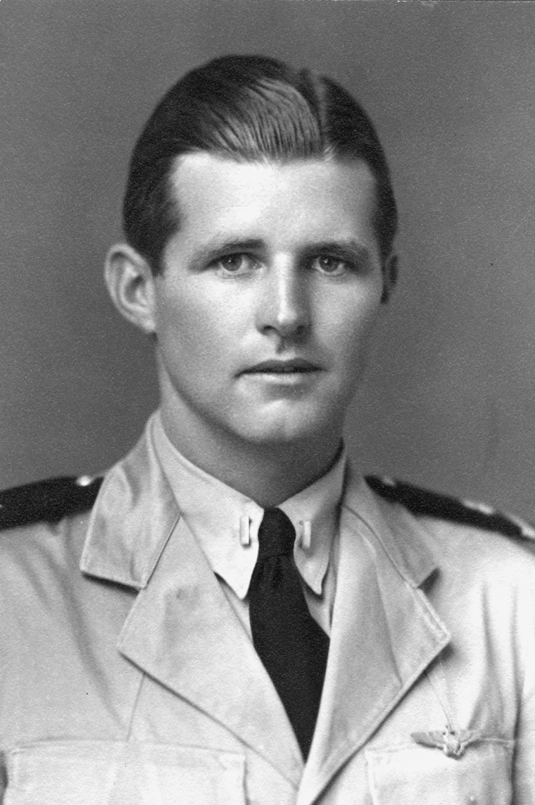 ca. 1942 Ensign Joseph P. Kennedy Jr., USN. Photograph in the John F. Kennedy Presidential Library and Museum, Boston.