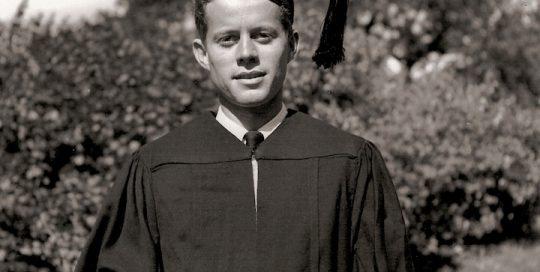 John F. Kennedy, Graduation