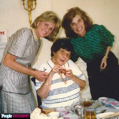 Rosemary Kennedy with Eunice Kennedy Shriver and Jean Kennedy Smith