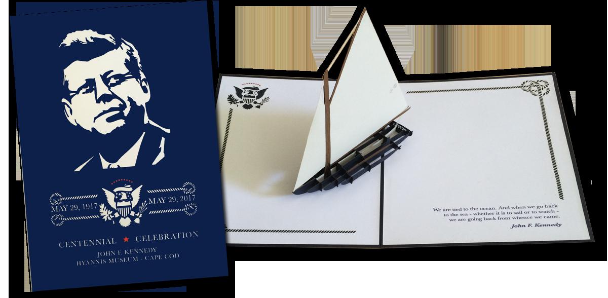 John F. Kennedy Centennial Celebration Greeting Card