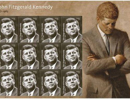 JFK stamp to be dedicated Monday April 17th at JFK Hyannis Museum!
