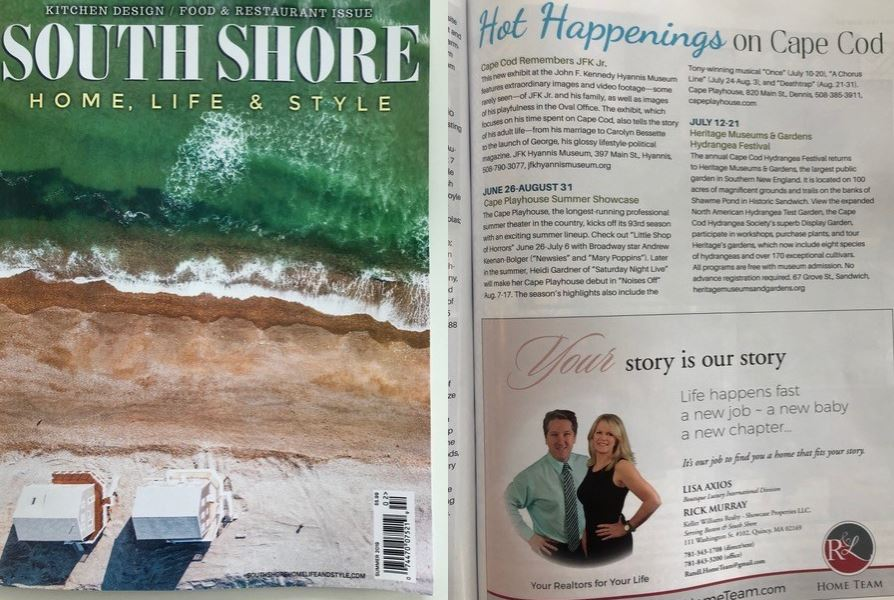 The latest issue of South Shore Home, Life & Style highlights